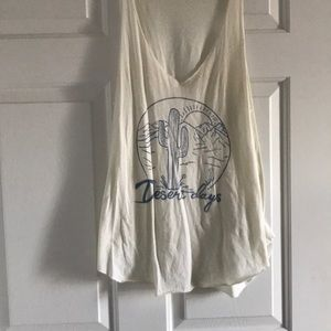 Desert days tank - project Social t
